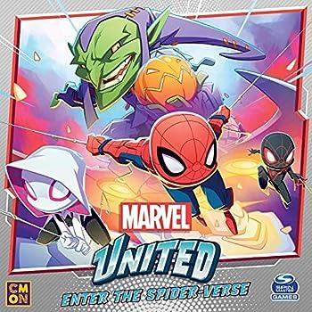CMON Marvel United Enter The Spider-Verse Kickstarter Exclusive
