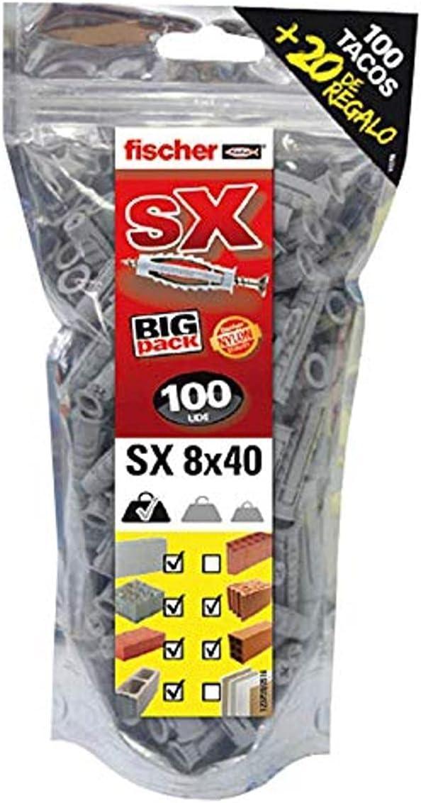 Super-cheap Fischer 519333 Gratis Bolsa de 100 Nylon Sale SALE% OFF Plug Big Pack Uds S