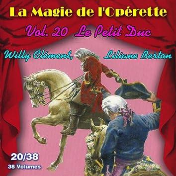 Le Petit Duc - La Magie de l'Opérette en 38 volumes - Vol. 20/38