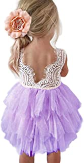 Baby Toddle Girls Tutu Dress Short Sleeves&Sleeveless Stripe Tulle Skirts A-line Dress