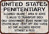 Shunry Please Drive Slow-Alcatraz Prison Blechschilder