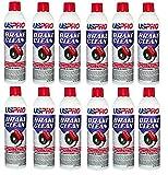 DENCO DISTRIBUTING, INC. Brake Cleaner USPRO Non-Chlorinated Low VOC - 14oz Cans (12)