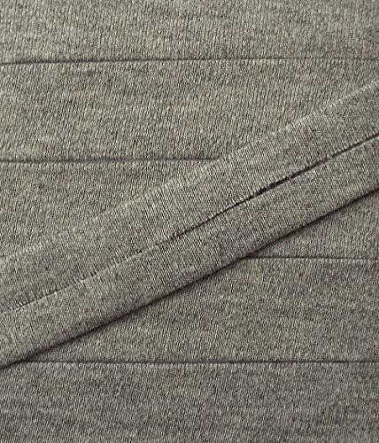 3 m Jersey Einfassband Trikot elastisch 20 mm vorgefalzt grau 2,66 €/m
