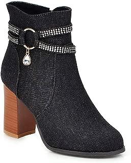 BalaMasa Womens ABS14140 Pu Boots