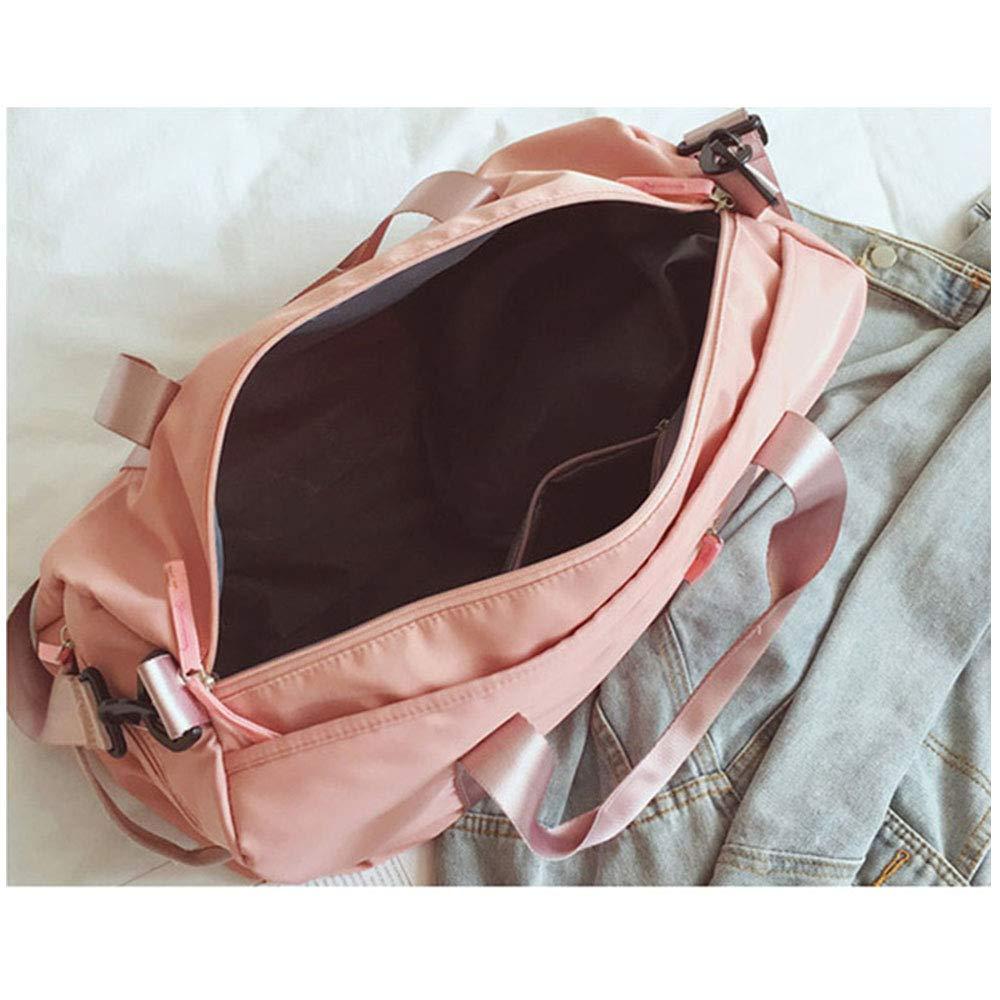 SKEIDO Sport Gym Duffle Holdall Bag Training Handbag Yoga Bag Travel Overnight Weekend Shoulder Tote Bag with Shoes Compartment