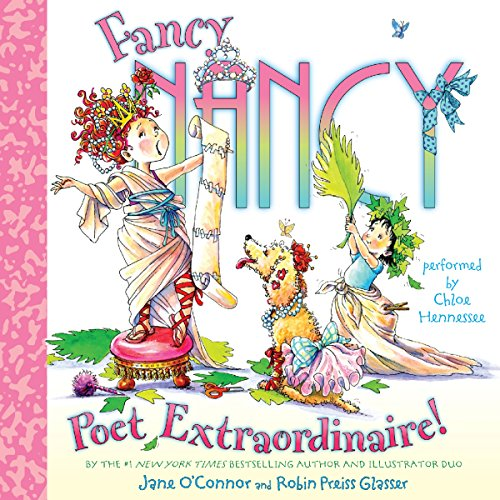 Fancy Nancy: Poet Extraordinaire! audiobook cover art