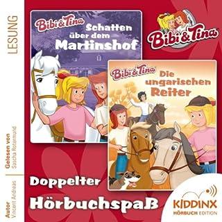 Bibi & Tina - Hörbuchbundle                   Autor:                                                                                                                                 Markus Dittrich,                                                                                        Vincent Andreas                               Sprecher:                                                                                                                                 Sascha Rotermund                      Spieldauer: 4 Std. und 50 Min.     39 Bewertungen     Gesamt 4,2