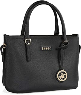 Beverly Hills Polo Club Tote Bag for Women, Black