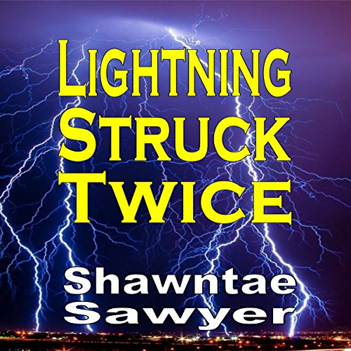 Lightning Struck Twice audiobook cover art