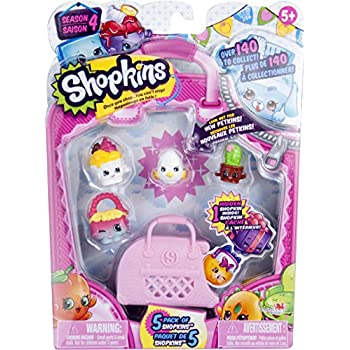 Shopkins 5 Pack Series 4 | Shopkin.Toys - Image 1
