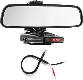 PerformancePackage espejo pantalla plana soporte de Radar Detector + Espejo Cable de alambre – Escort 9500ix