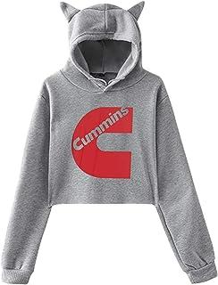 Mens Cummins Hoodies Generic Long Sleeves Trendy Sweatshirt with Pocket Blouse
