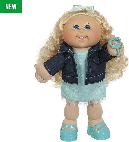 Cabsace Patch Enfants Adoptimal poupée 35,6cm, cheveux blonds et les yeux bleus