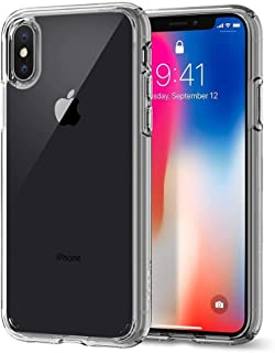Spigen iphone X Case, Ultra Hybrid, Crystal Clear