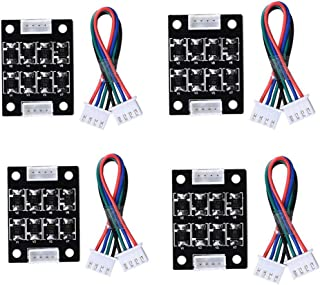 iHaospace TL-Smoother V1.0 3D Printer Smoother Addon Module for Pattern Elimination Motor Clipping Filter for Ender 3 CR-10S,Ender 5 Stepper Motor Drivers (Pack of 4pcs)