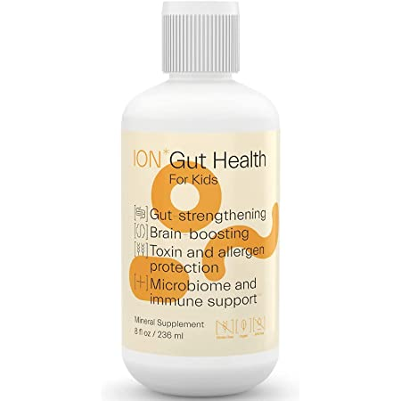 ION*Gut Health for Kids   Promotes Digestive Wellness, Strengthens Immune Function, Alleviates Gluten Sensitivity, Enhances Mental Clarity   (8 oz. Kids)