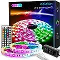 65.6ft Led Lights for Bedroom dalattin Led Strip Lights Color Changing Lights with 44 Keys Remote,2 Rolls of 32.8ft
