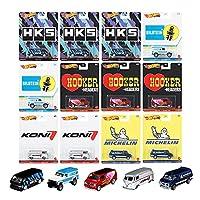マテル ホットウィール(Hot Wheels) ポップカルチャー アソート - スピード ショップ ガレージ 【ミニカー12台入り BOX販売】 987K-DLB45
