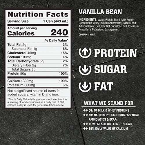 American Bodybuilding post workout Recovery Protein Shake