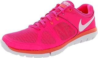 Women's Flex 2014 Rn Hyper Pink/White/Bright Mango Running Shoe 6 Women US