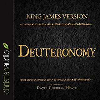 Holy Bible in Audio - King James Version: Deuteronomy cover art