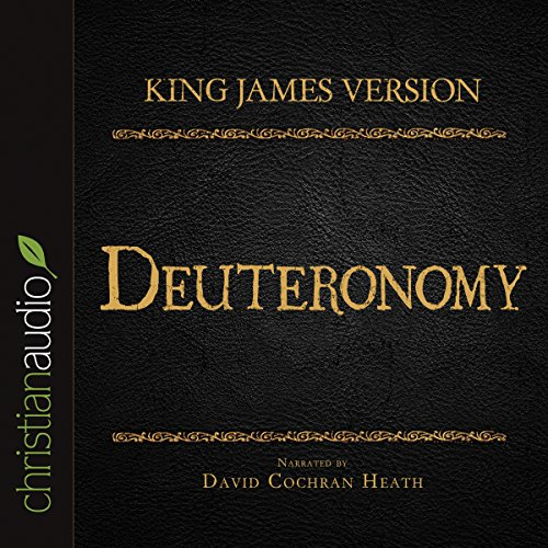 Holy Bible in Audio - King James Version: Deuteronomy audiobook cover art