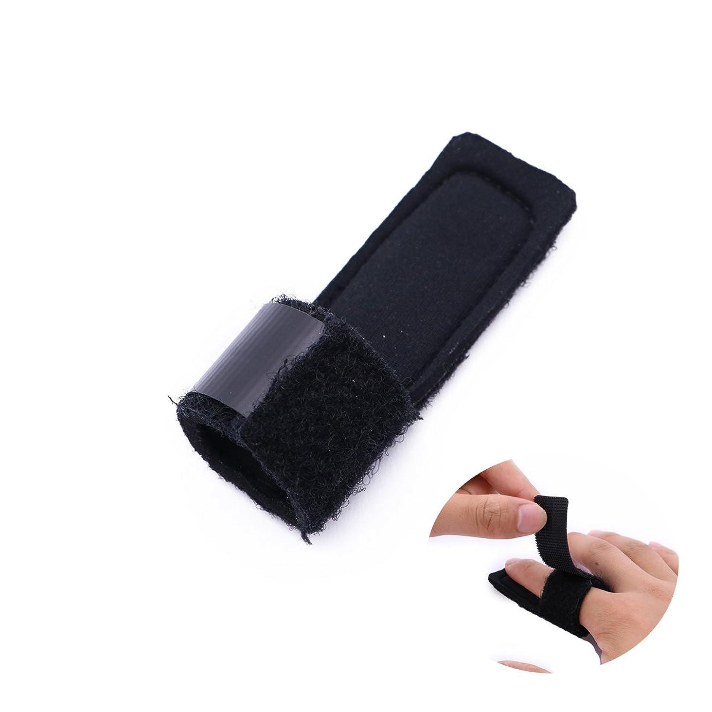 お世話になった膨らませる結婚するSUPVOX 指の添え木マレット指の支柱の引き金のための骨折の接合箇所の添え木プロテクター
