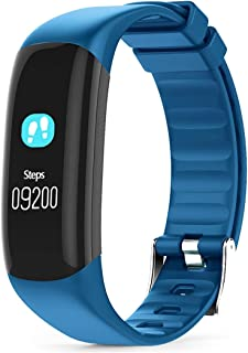 Zomeber Relojes Inteligentes P7 0,96 Pulgadas de Pantalla en Color de Bluetooth 4.0 Inteligente Pulsera rastreador de Ejercicios, IP67 a Prueba de Agua (Negro)
