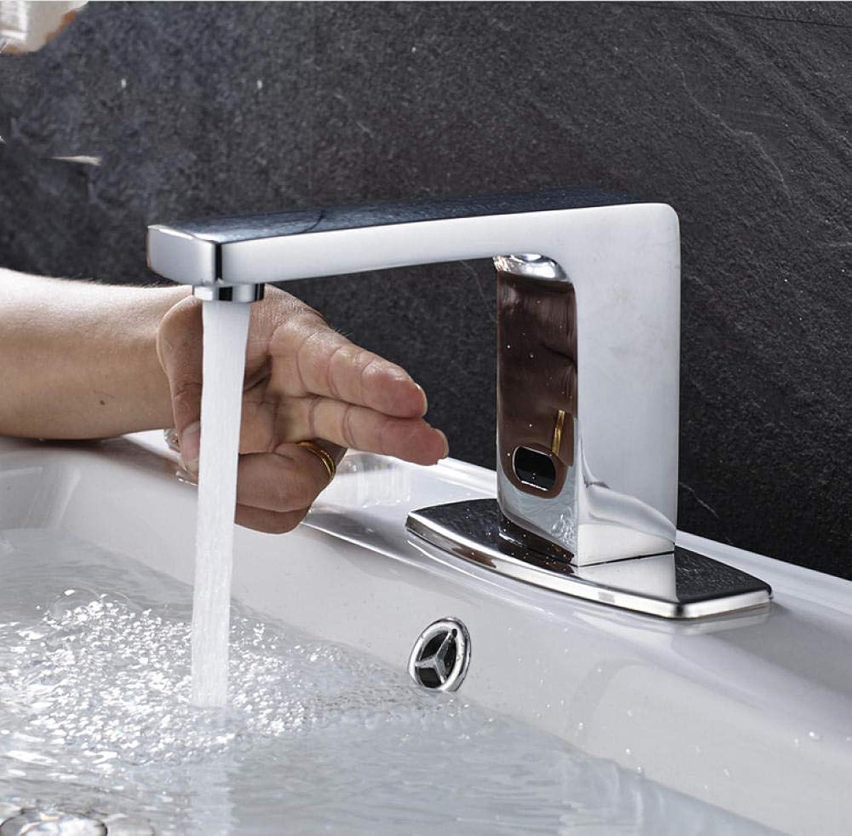 Neu Bright Chrome Waschbecken Wasserhahn Wasser sparende Sense-Armaturen nur für kaltes Wasser Waschen Wasserhahn