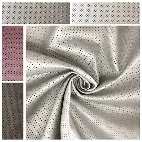 Panini tejidos tela sintética perforada–Comart a a partir de 50cm de largo x 140cm de ancho fija–para tapicería, revestimiento y accesorios