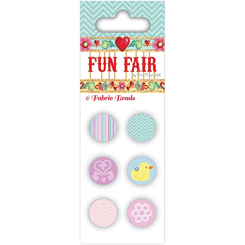 Trimcraft Helz Fun Fair Fabric Brads