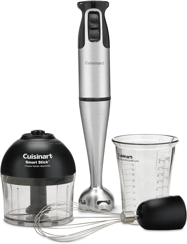 Cuisinart CSB-79 Smart Stick 2 Speed Hand Blender, Stainless Steel Black