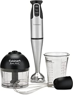 Cuisinart CSB-79 Smart Stick 2 Speed Hand Blender, Stainless Steel/Black