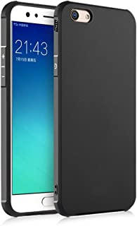 FaLiang Oppo F3 Plus Case, Business Series Shockproof Ultra Thin Soft Silicone Back Case Cover for Oppo F3 Plus (Black)