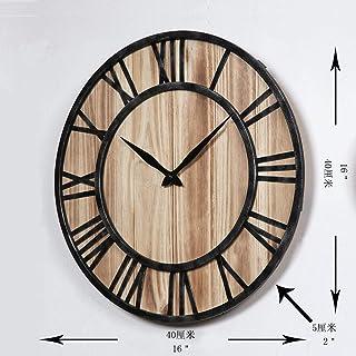 4d96bf0f3 FENGMANG Estilo Europeo y Americano Sala de Estar Reloj de Pared Engranajes  Relojes caseros Personalidad de