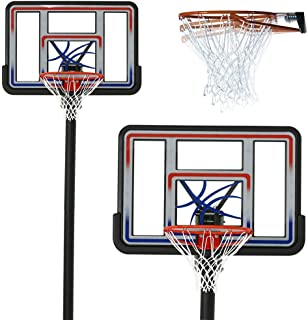 """Cirocco Acrylic 44"""" In Ground Basketball Hoop System 
