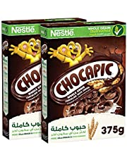 Chocapic Nestle Chocolate Breakfast Cereal 375g (Pack of 2) – Promo Pack