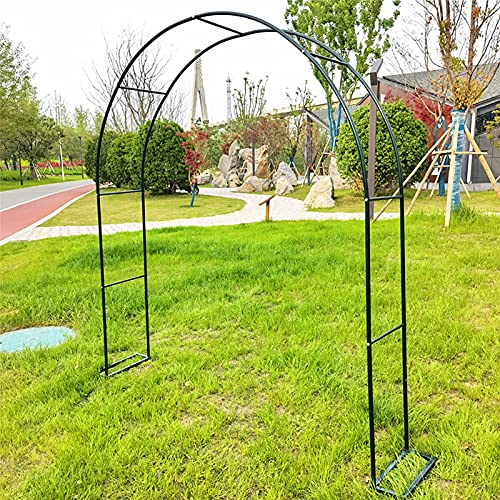 Metalen Rozenboog, Grote Boog Hoogwaardige Tuinboog Trellis Boog Tuin Tuindecoratie, Voor Verschillende Klimplanten
