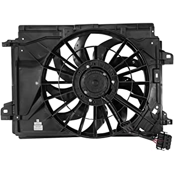 DNA Motoring OEM-RF-0014 HY3115103 Factory Style Radiator Cooling Fan Replacement