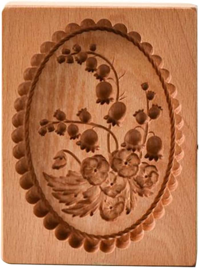 Wrth Carved Wooden Baking Cookie Mold DIY Super popular specialty store Cut Latest item Gingerbread