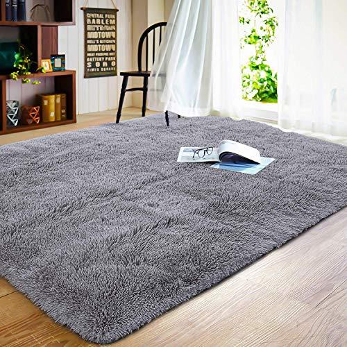 Küchenteppich 180x260cm Flauschige Matte Schadstoffgeprüft Pflegeleicht fürWohnzimmerSchlafzimmerSofa
