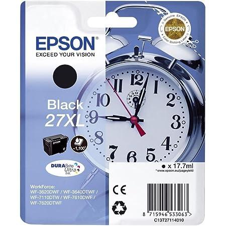 Epson C13t27114022 Schwarz Original Tintenpatronen Pack Of 1 Bürobedarf Schreibwaren