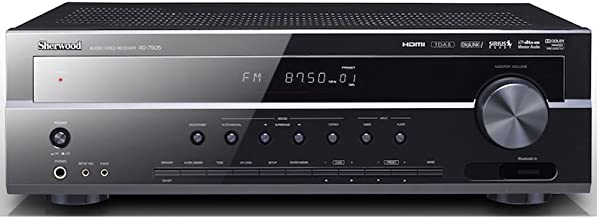 Sherwood RD-7505 110W Audio/Video Receiver (Black) (Discontinued by Manufacturer)