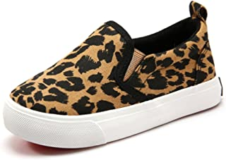 Toddler Kids Canvas Sneakers Boy's Girl's Casual Slip-on Shoes Loafer Flats