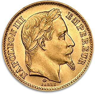 FR French Franc Napoleon Gold Brilliant Uncirculated