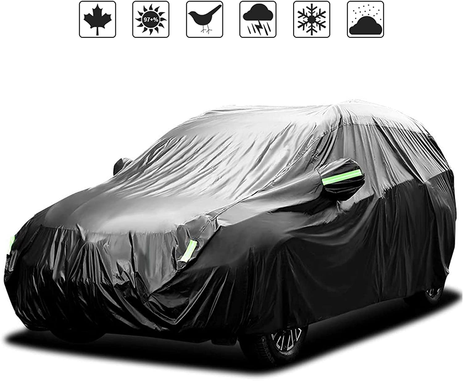NEVERLAND Waterproof Car Cover All Weather Snowproof Product Anti-UV Du Ranking integrated 1st place