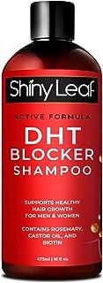 DHT Blocker Shampoo for Hair Loss, for Men & Women, Active Formula, Natural DHT Blocking Shampoo for Hair Growth, Reduce Shedding, For Thinning Hair, Hair Fall and Hair Loss Treatment Shampoo 16 fl.oz