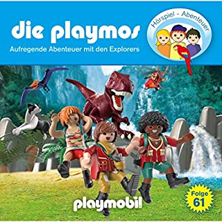 Aufregende Abenteuer mit den Explorers (Die Playmos 61) Titelbild