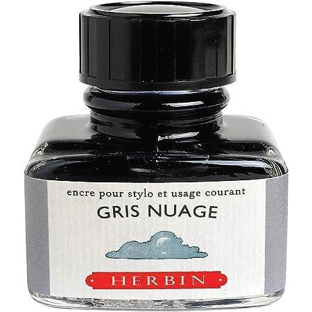 Herbin - Inchiostro per Penna Stilografica grigio, 5.5 x 5 x 5 cm, 1 Pezzi