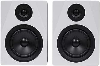 Rockville 2-Way 250W Active/Powered USB Studio Monitor Speakers Pair, 5.25 inch (APM5W)